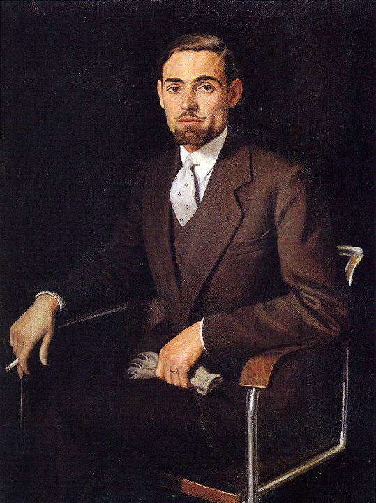 Opere di Brancaleone Cugusi da Romana - Ritratto del fratello Guglielmo (1935)