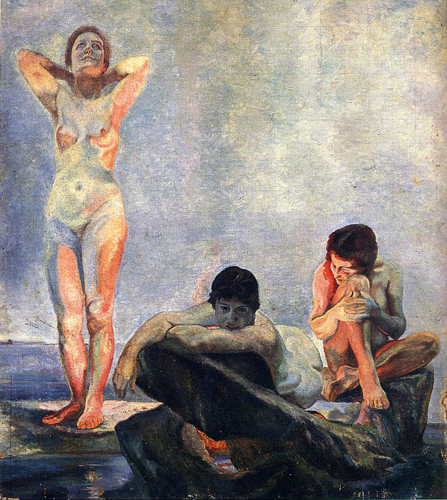 Opere di Brancaleone Cugusi da Romana: Le bagnanti (1932-1933)