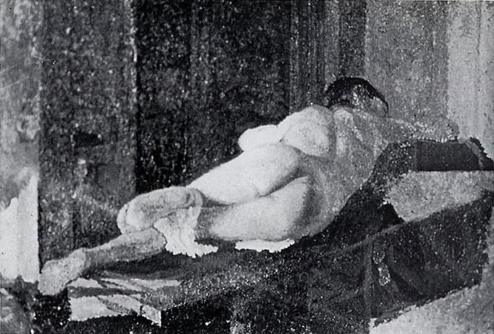 Opere di Brancaleone Cugusi da Romana: Nudo dormiente (1936)
