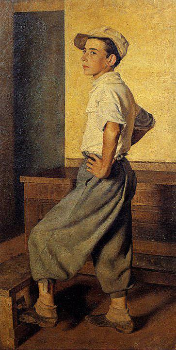 Opere di Brancaleone Cugusi da Romana: Ritratto di Chiccu (1936-1940)