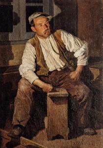 Opere di Brancaleone Cugusi da Romana: Il fumatore (1938-1940)