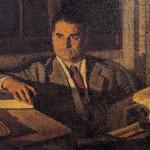 Opere di Brancaleone Cugusi da Romana: Ritratto di studioso (Antonello Zintu), 1940-1941