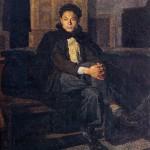 Opere di Brancaleone Cugusi da Romana: Giovane col mantello (1940-1941)