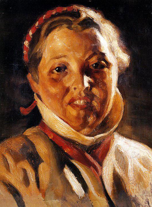 Opere di Brancaleone Cugusi da Romana: Testa di ragazza (1933-1934)