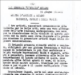 14_06_1942 - L'Italia - Milano - Brignoli, Cugusi e Della Foglia