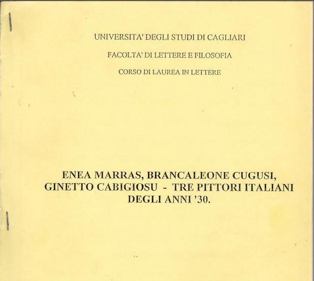 Andrea Prost tesi di laurea su Brancaleone da Romana