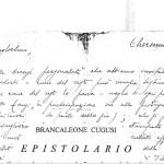 Brancaleone Cugusi da Romana epistolario