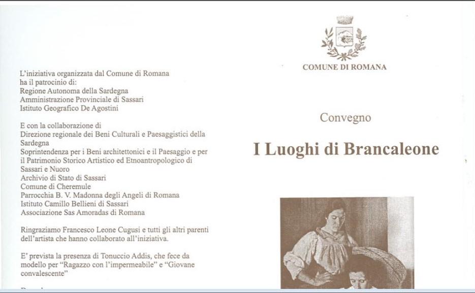 Convegno I luoghi di Brancaleone Cugusi da Romana
