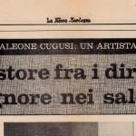 22_09_1973 - La Nuova Sardegna: Brancaleone Cugusi