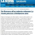 Brancaleone: da Romana all'accademia milanese_