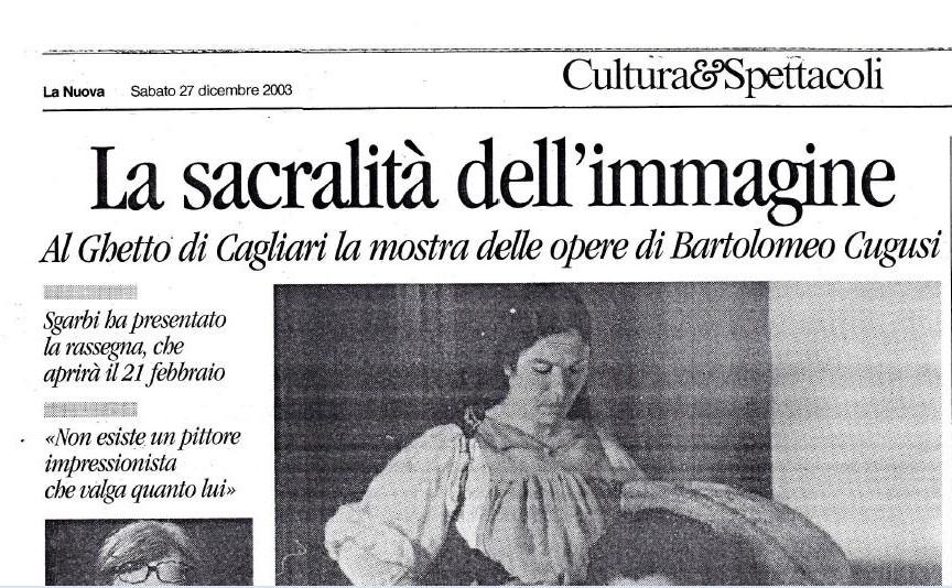 Al Ghetto di Cagliari le opere di Brancaleone Cugusi