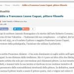 Addio a Francesco Leone Cugusi