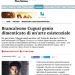 La Nuova Sardegna: Brancaleone Cugusi da Romana genio dimenticato